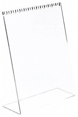 Plymor Brand Clear Acrylic Necklace Display Stand w/Top Hook
