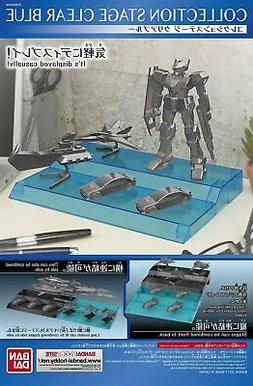 Bandai Collection Hobby Gundam STAGE 4 Display Stand Clear B