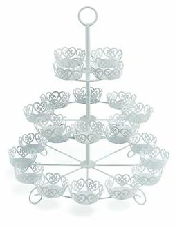 Cooking Upgrades CS-1-24 24 Count Cupcake Stand Holder Displ