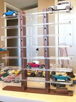 DISPLAY STAND FOR 24 1:32 MODEL CARS FREE STANDING OR WALL H