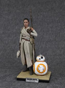 DISPLAY STAND for Hot Toys Star Wars 1/6 REY and BB-8