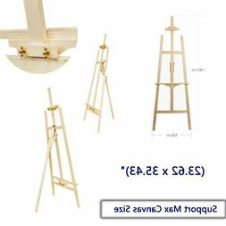Durable Wood Wooden Sketch Easel Artist Painter Stand lyre F