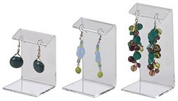 Displays2go Earring Display Stands Single Pair , Clear Arcyl