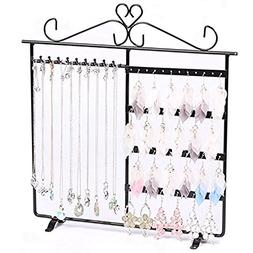 Adorox Earring Holder Jewelry Organizer Necklace Hanger Wall