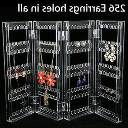 Earrings Ear Studs Necklace Jewelry Display Rack Stand Organ