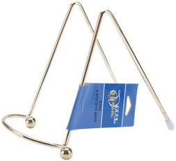 Darice Easel Metal Display Stand Gold 4 Inches