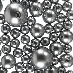 Elegant Glossy Polished Pearl Beads for Vase Fillers, DIY Je