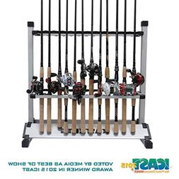 KastKing Rack 'em Up Portable Aluminum Fishing Rod Holder -