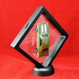 """Floating Frame Square Display Stand Outside 4.25"""" x 4.25"""" In"""