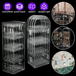 foldable jewelry display stand rack earring hole