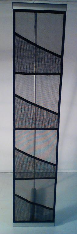 Four Pocket Mesh Floor Literature Rack Brochure Magazine Dis
