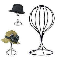 Padshow Freestanding Wire Ball Hat Stand/ Hat Rack / Wig Hol