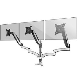 Duronic DM653 Gas Powered Triple LCD LED Desk Mount Arm Moni