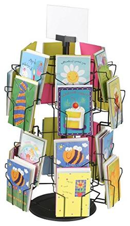 Greeting Card Display Stand with  5 x 7 Pockets for Countert