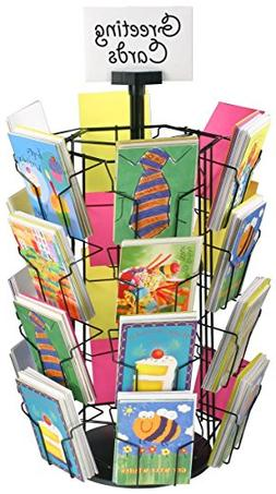 Greeting Card Racks with  5 x 7 Pockets for Countertop Use,
