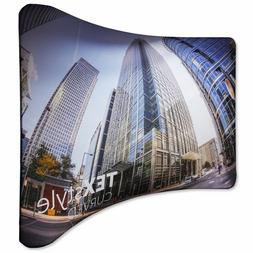 High Quality Curved Tension Fabric Exhibition Display Stand