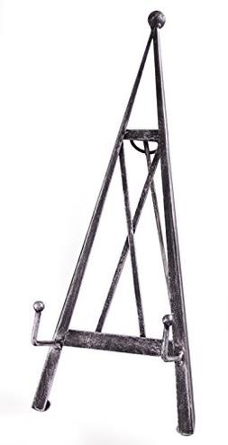 Industrial Style Decorative Plate Stand and Art Holder Easel