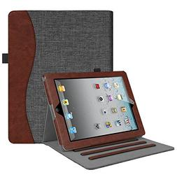 Fintie iPad 2/3/4 Case  -  Folio Smart Stand Cover with Pock