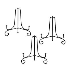 COSMOS Pack of 3 Iron Display Stand Art Holder Easel for Dis