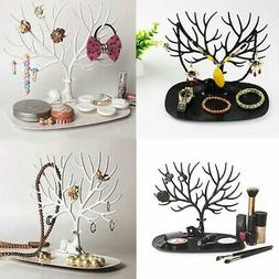 Jewelry Display Organizer Necklace Ring Earring Deer Tree St
