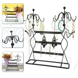 JEWELRY DISPLAY STAND Earring Holder Organizer Necklace Ring