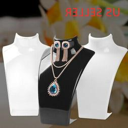 Jewelry Necklace Display Plastic Mannequin Earrings Pendant