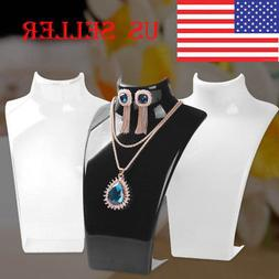Jewelry Necklace Earrings Mannequin Bust Display Stand Organ