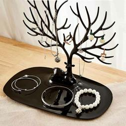 jewelry tree stand display organizer ring earring