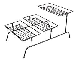 JMiles UH-SR265 Three-Tiered Serving Rack - Three Tier Count