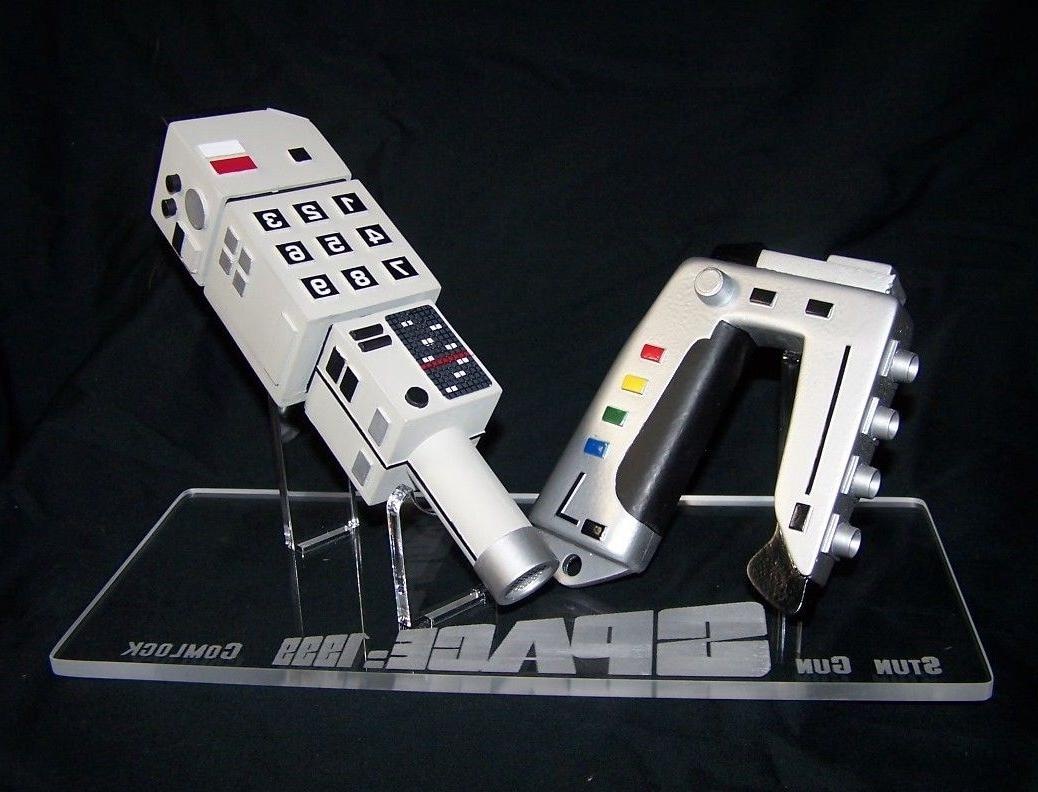 1 x Acrylic Display STAND - Space 1999 Commlock & Stun Gun p