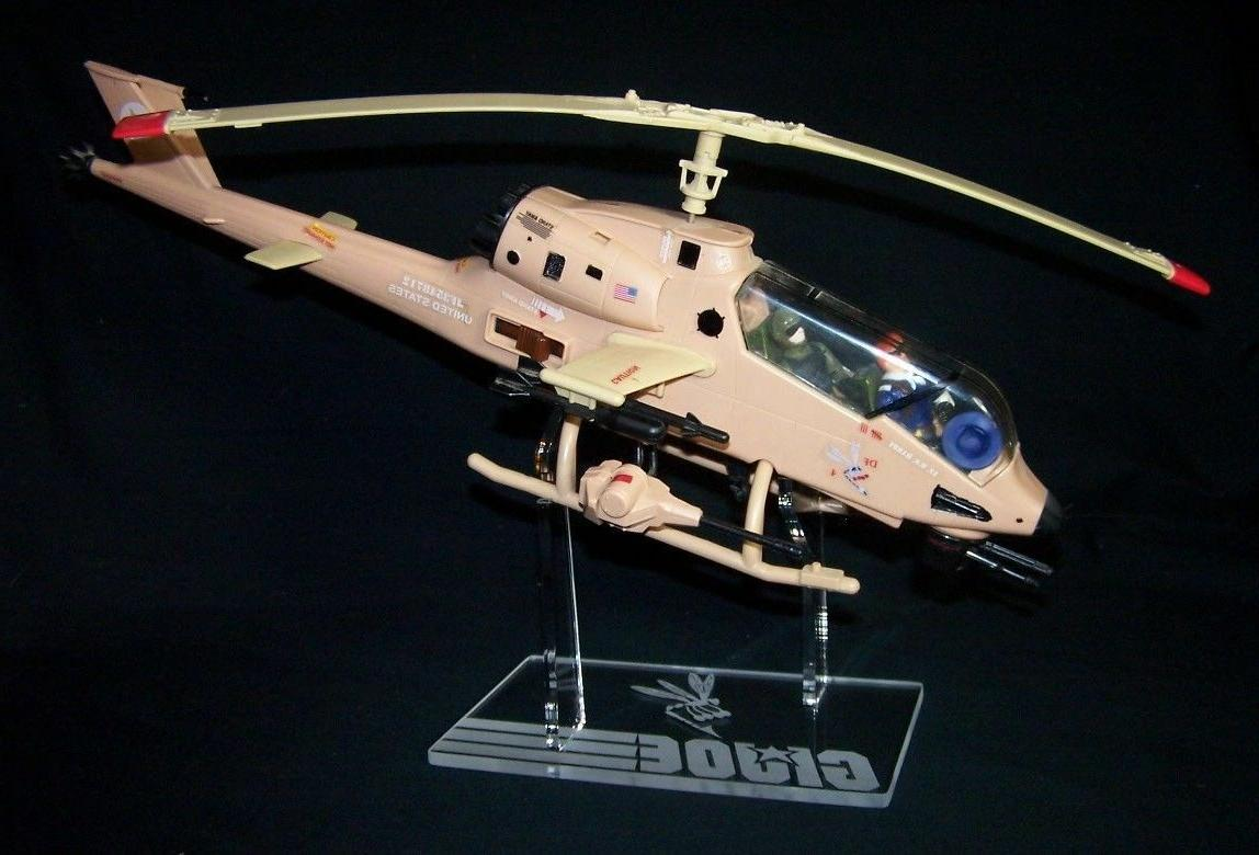 1 x Acrylic Display STAND - GI Joe Dragonfly in flight