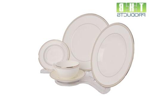 12 Stands Dinnerware Pieces View #906