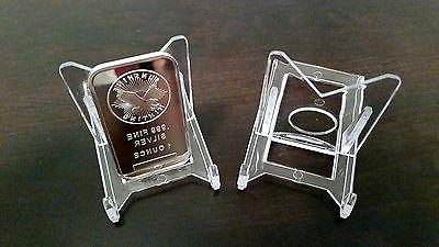 15 adjustable 2 display stand easel coins