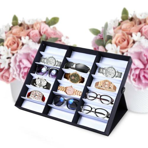 18 slot eyeglass sunglasses glasses storage display