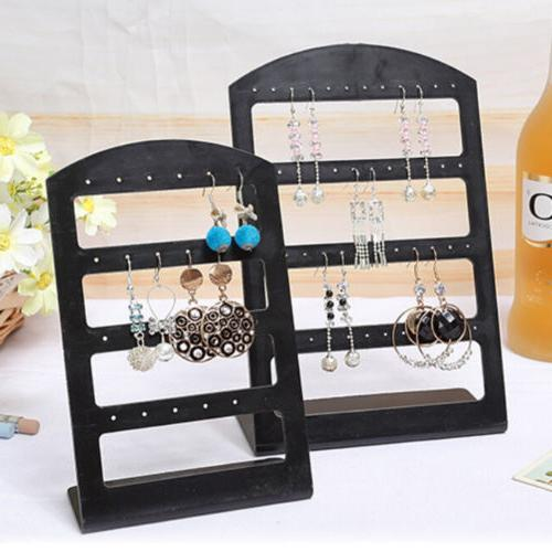 1X Earrings Ear Studs Display Rack Stand Jewelry Organizer H