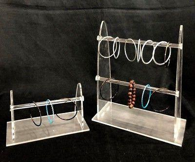 2 set Display For Sunglasses Jewelry Displays Stand Acrylic