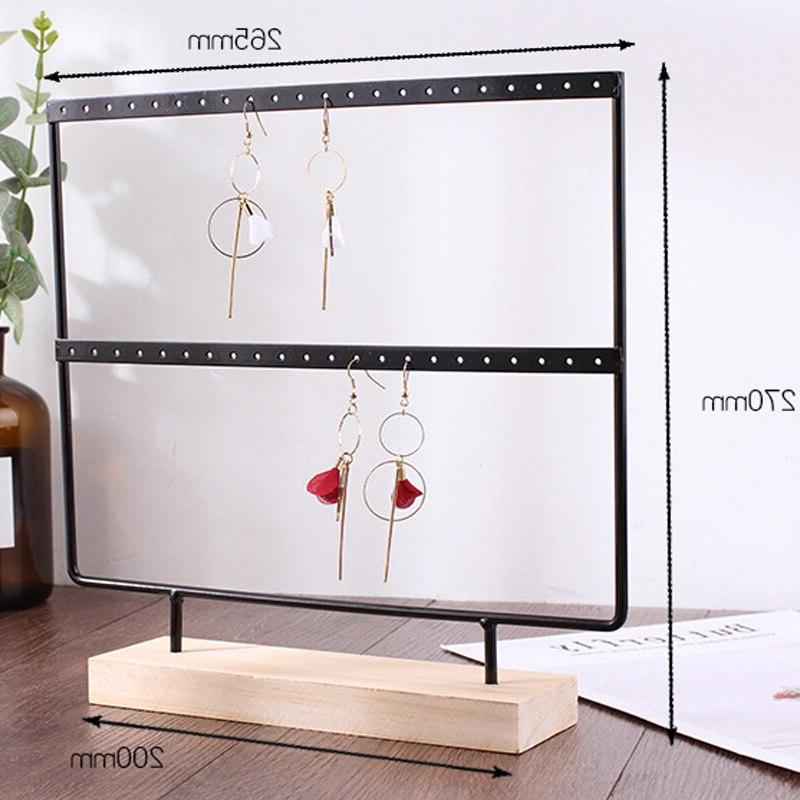 Mordoa Earrings Necklace Bracelet Rack 2 Jewelry Packing