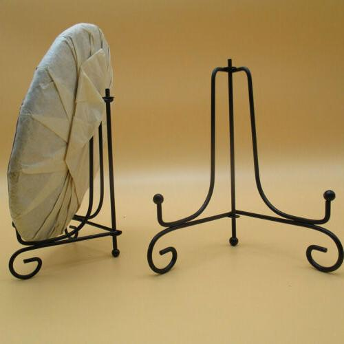 2pcs iron plate easel holder display stand