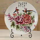 2Pcs Iron Wire Display Easel Stand China Dish Plate Rack Hol