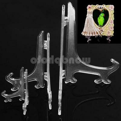 3 Plastic Stand Picture Easel Holder