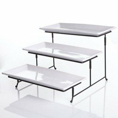 3 Platter, Tiered Tray Food Di