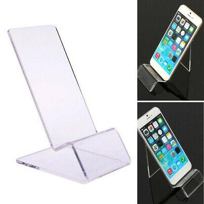 30pcs general clear acrylic mount holder display