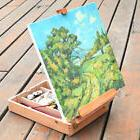 Portable Beech Sketch Box with Easel 36*27*11.5cm Wood Color