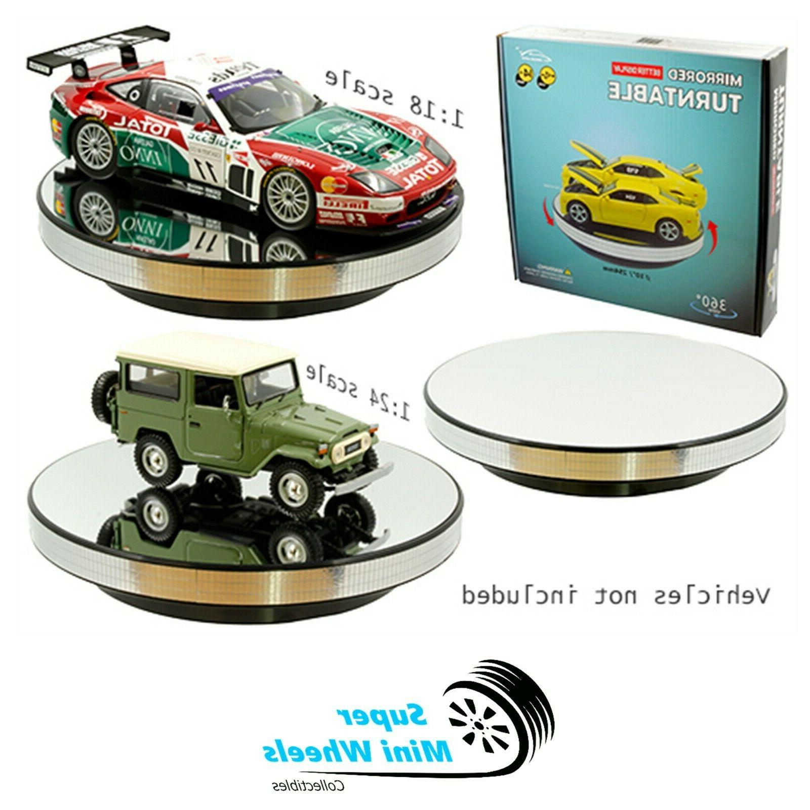 360 rotary display stand 10 mirrored turntable