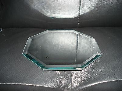 """5"""" BEVELED DISPLAY MIRROR OR CANDLE STAND --- 3 SHAPES AVAIL"""