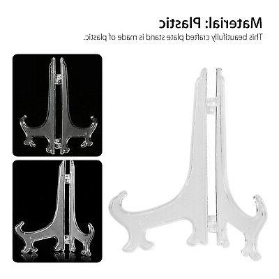 5 easel Stand Plate Picture Pedestal folds