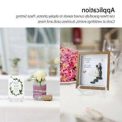 5 Pack Easel Display Stand Picture Photo Frame Art Decor
