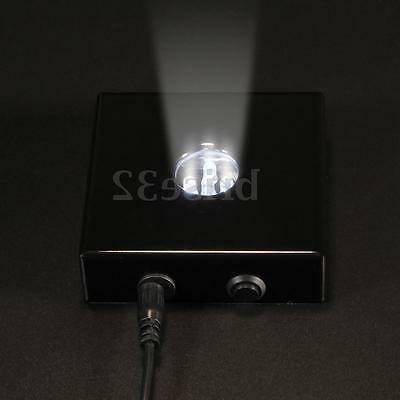5 White Stand Wooden USB Crystal AC