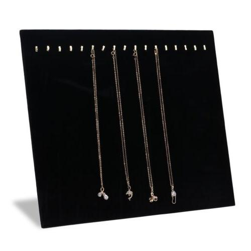 "5pcs 14.5"" Necklace Stand Jewelry Holder"