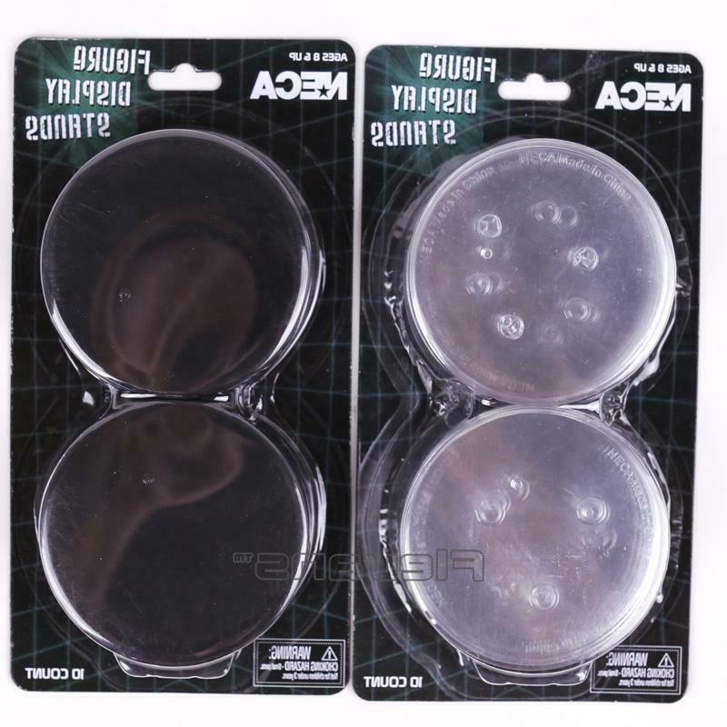 5pcs Round Display Stand Base for By NECA